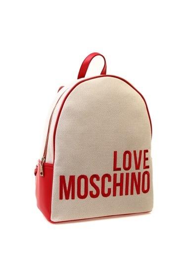 Love Moschino Clutch / El Çantası Bej
